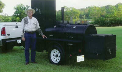 Don and the bbq pit